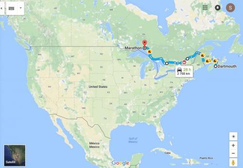 0073af Halifax - Marathon