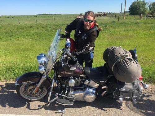 0150aa Bensinstopp Alberta